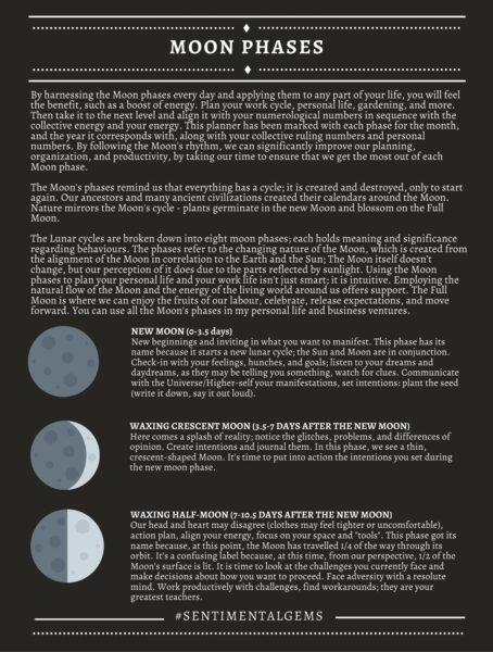 Full Moon Phases: Sentimental Gems
