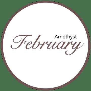February Birthstones