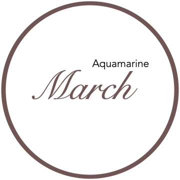 March Birthstones